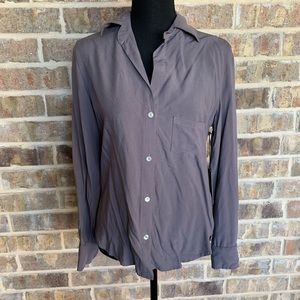 Fidelity button up blouse new with tags size small